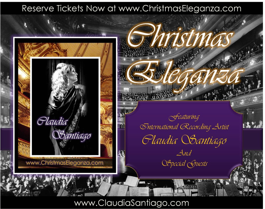 Christmas-Eleganza-Tour-ClaudiaSantiago-GetTickets